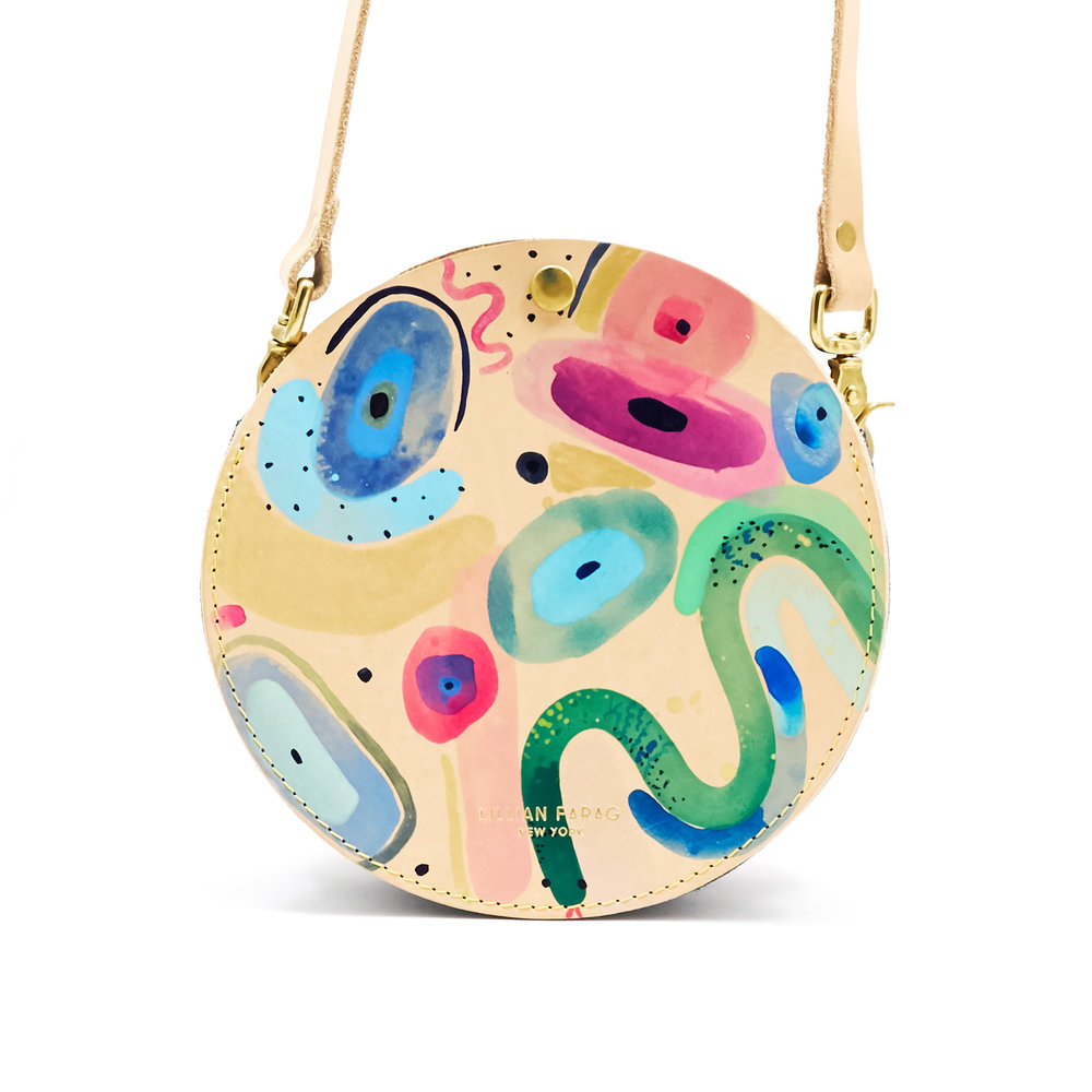 Painted Circle Bags