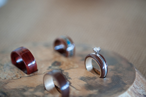 Rings by  Simply Wood Rings  | John Dart Photography