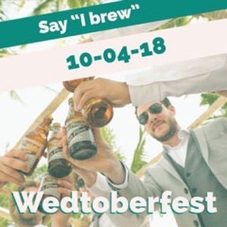 Can you smell the hops and wedding excitement in the air? That's because @wedtoberfest is tomorrow! Wedtoberfest is an alternative wedding show that marries the casual laid-back atmosphere of a beer festival with the fun of wedding planning. Stop by the Gussied table to say hi to Julia & Randy and learn more about what wedding music options Gussied has to offer. . . . . . #wedtoberfest #weddingplanning #beerfestival #craftbeer #alternativewedding #beer #datenight #chicagoweddings #chicagoevents #weddinginspo #weddingideas #craftbeer #drinklocal #chicagobeer