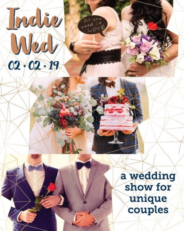 Can't wait to see y'all on Saturday at @indiewed! Randy, Julia, & Liz will be at booth #10 on the first floor. Come say hi 👋 Head to indiewed.com to purchase tickets and learn more.  #indiewed #indiewed2019