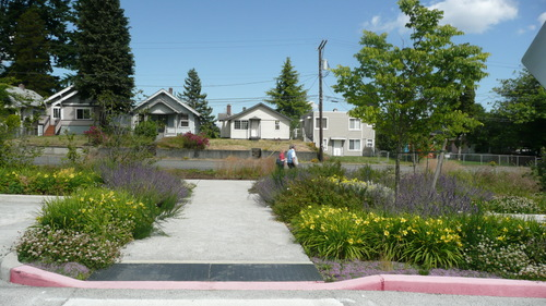 OLYMPIC COLLEGE PARKING GARDEN — MIG|SvR