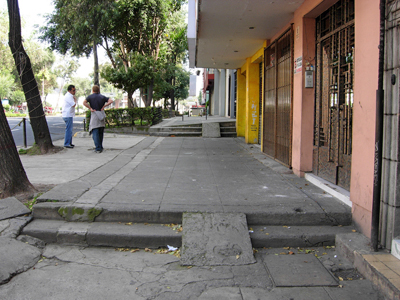 Accessible Ramps in Mexico City