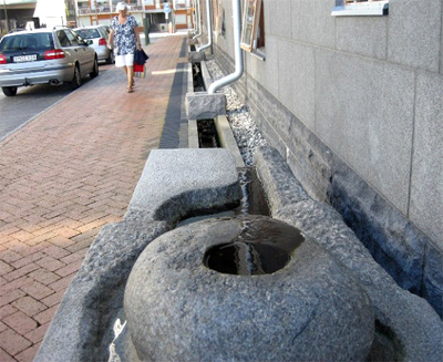 Stormwater Runnels in Malmo, Sweden