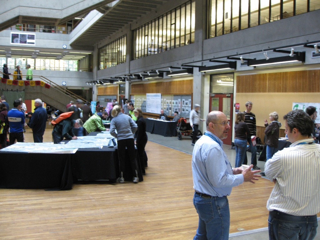 The Children's Hospital Livable Streets charrette was held at the University of Washington.