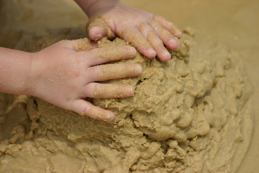 "We traditionally think of sandplay therapy as appropriate for children. And it is true that children seem to know immediately what to do in the sand, and in a state of playful, industrious absorption, play through their traumas and seem to magically heal their inner wounds. Yet sandplay is also deeply healing for adults, and can be a valuable adjunct to any kind of therapy, even analytic therapies. It's as if a new ""royal road"" to the unconscious has opened up, a royal road that leads us to symbols and feelings, reflecting back deeply buried, implicit images of the Self."