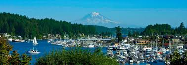 The town of Gig Harbor, Washington, training site for the 2019 week long summer sandplay trainings.