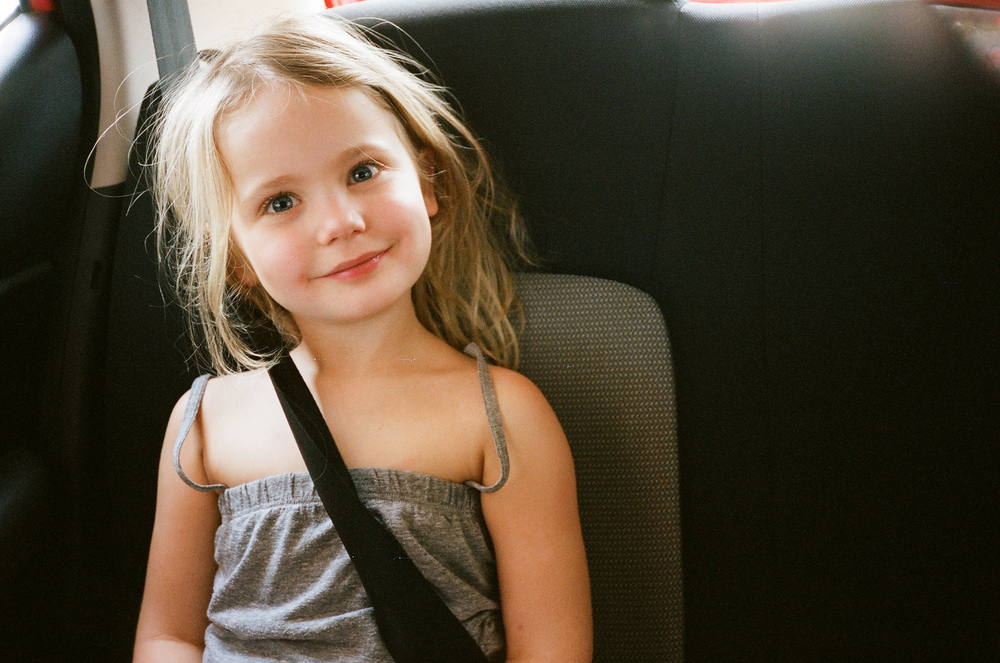 Bea on the cab ride from the airport!
