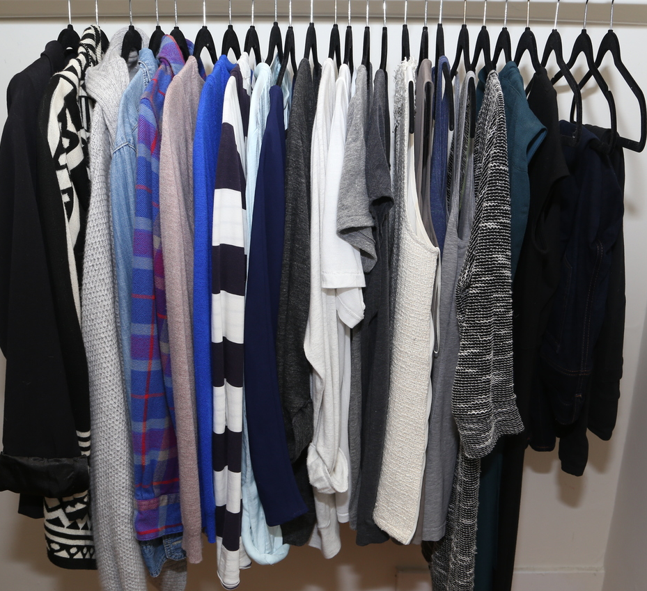 My winter wardrobe!