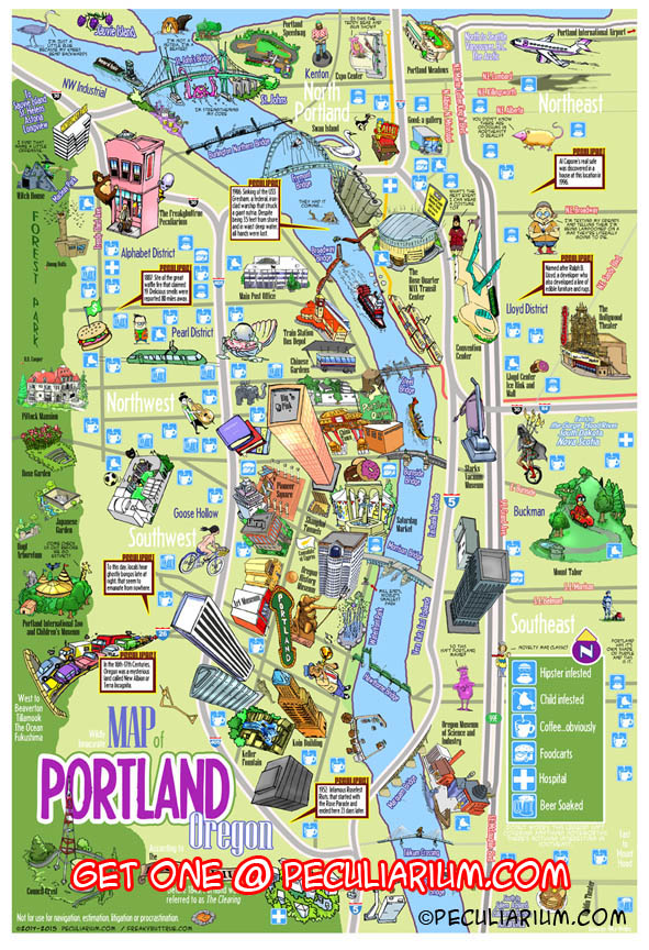 portland oregon city map Portland Oregon City Map Map Usa Map Images portland oregon city map