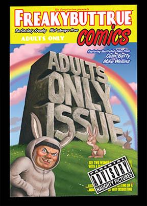 18 Adult Comics