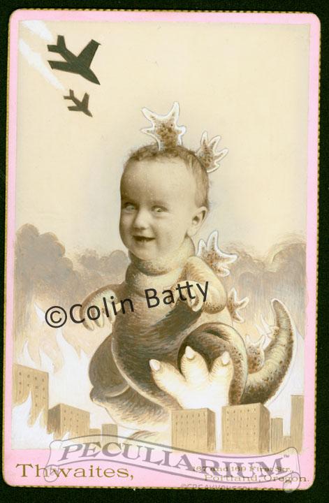 Baby girl-zilla on pink sm.jpg