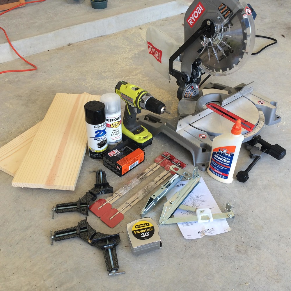A collection of some of the tools you will need.