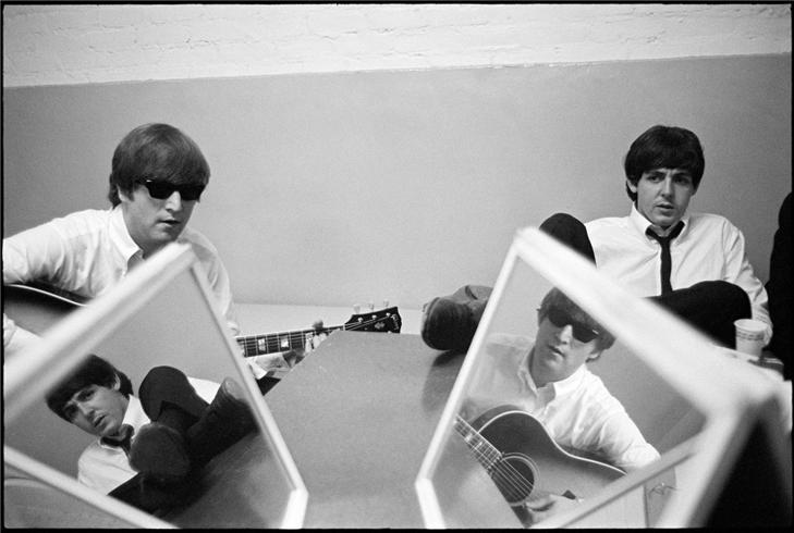 john and paul with mirrors.JPG