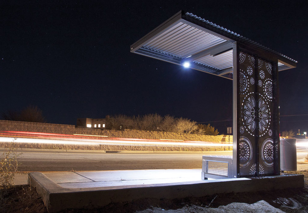 SANTA FE TRAILS BUS SHELTER UPGRADES