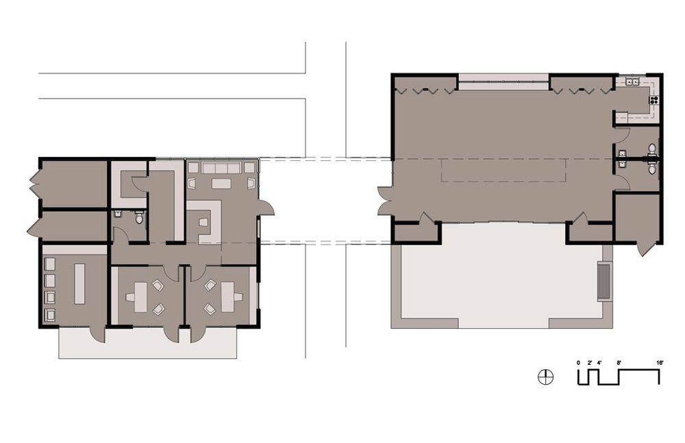 Community Building Floor Plan