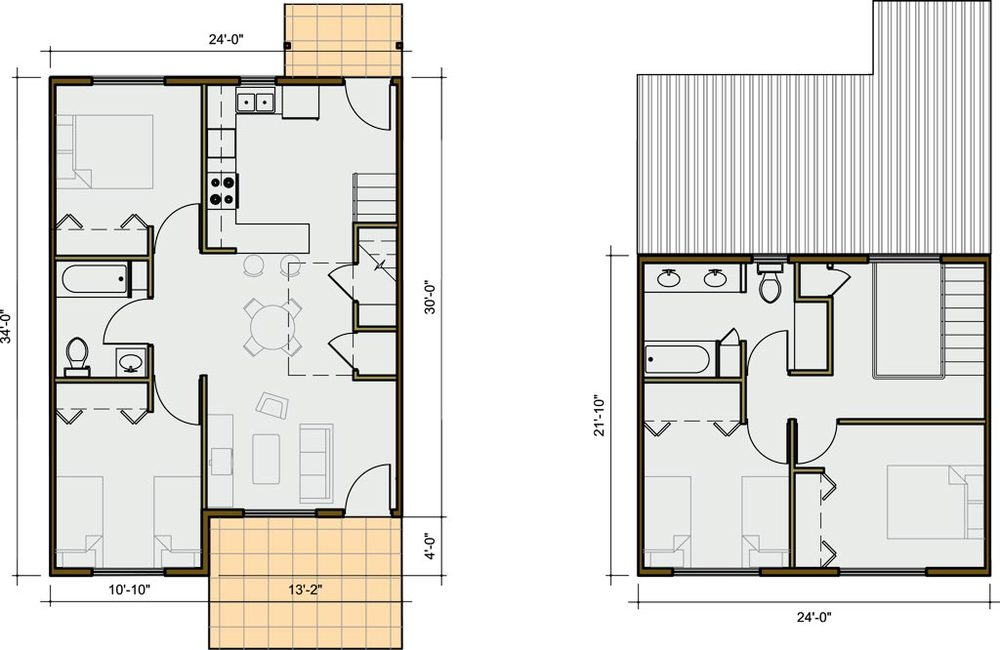4 Bedroom Unit Plan