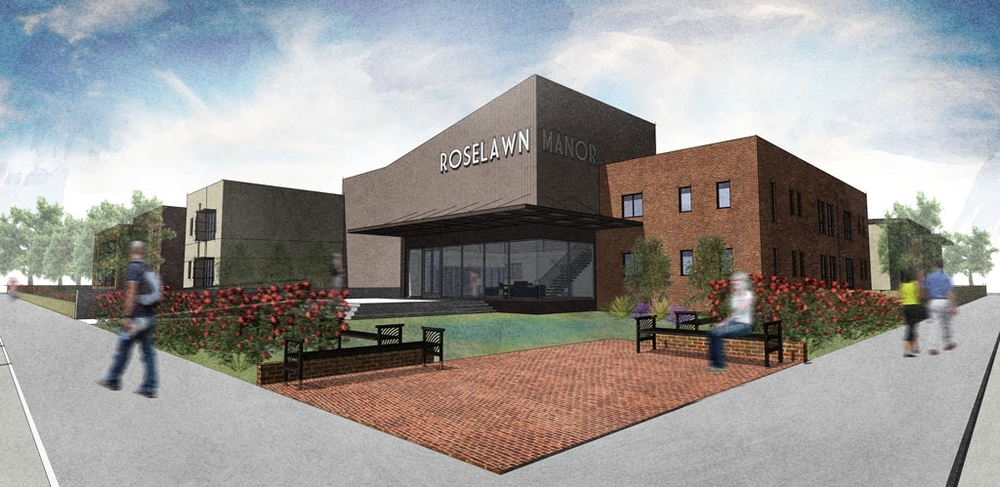 ROSELAWN MANOR - NEW BUILDING DESIGN