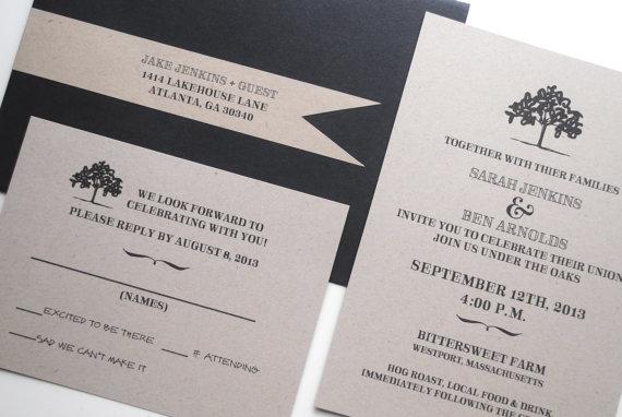 invitation rsvp sample