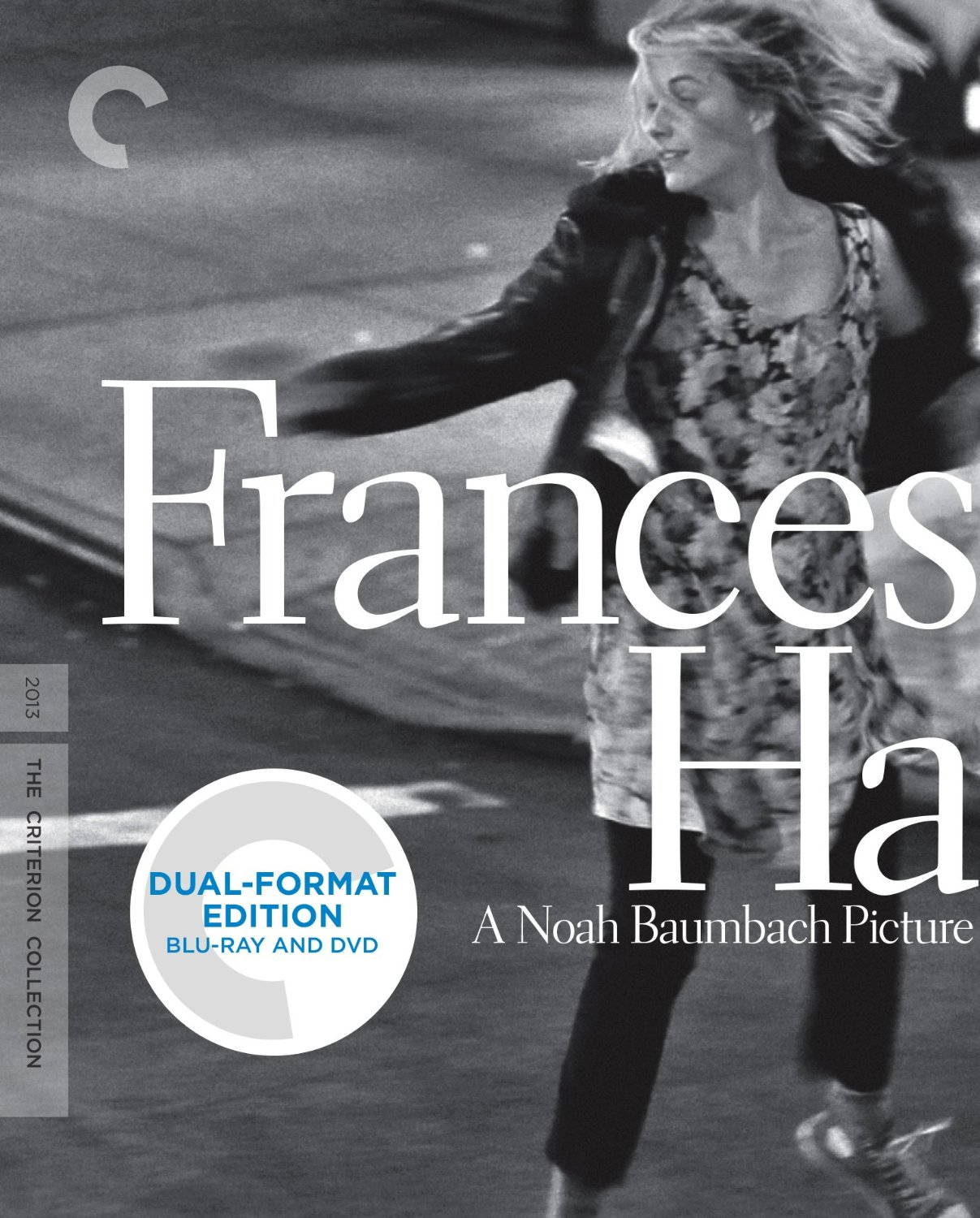 (Reposting via  Sean Fennessy —for some reason standard reblog functionality for photo reblogs are not working for me right now. Grrrrrr.)    I haven't seen  Frances Ha  yet, though I will almost certainly pick this up when it's released in November. Side note: Noah Baumbach's interview with Marc Maron via the  WTF Podcast  is excellent (the quote I posted earlier today is from that interview)—he talks about his new movie, while also touching on the ups and downs of his career.     My first job right out of college was doing graphic design with a small DVD label in Ravenswood called HVE, who was also Criterion's distributor. During that 3-year period, I really grew to love this company's output, and received something of a crash course in film history, to boot. A big perk of working there was that I received a copy of each Criterion release—everything between the releases of  Band Of Outsiders  and  F For Fake , which turned out to be something like 115 complimentary Criterion DVDs. It was pretty sweet.