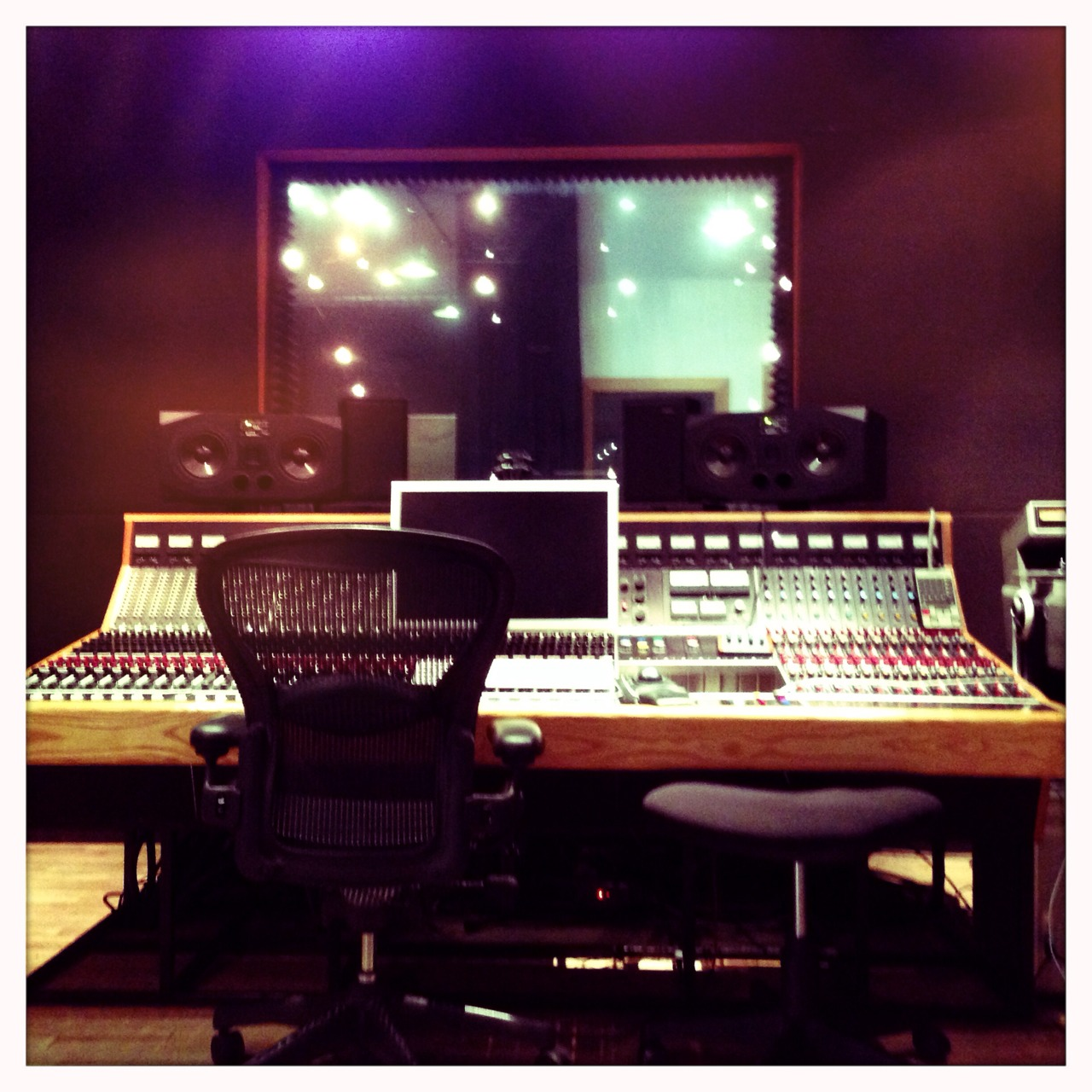 Mixing our debut LP at Soma Studios in a Wicker Park, day 1. Wish us luck!