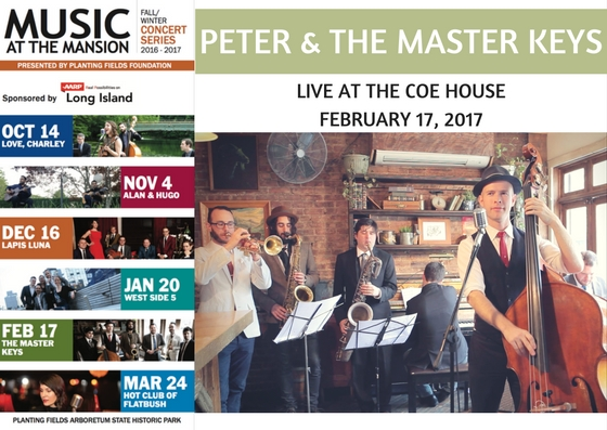 peter & the master keys play a sold-out show at the historic coe house, long island!