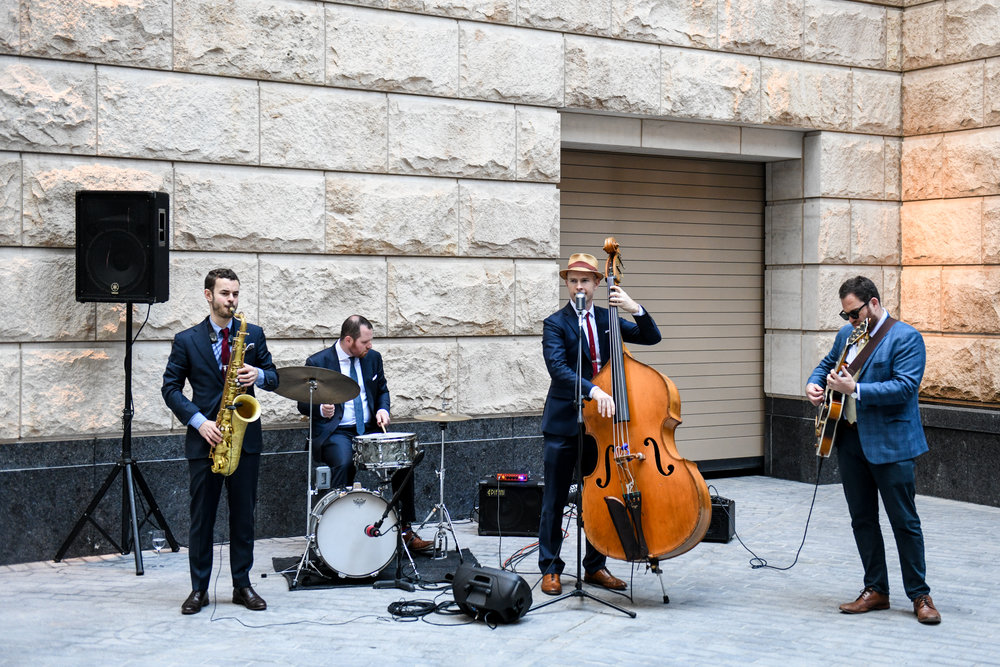 The Jazz wedding band at 70 Vestry in Tribeca, NY
