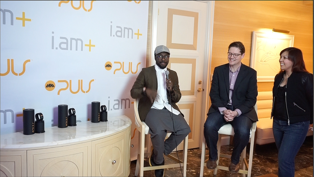 William Adams, GRAMMY® Award-winning musician and entrepreneur will.i.am, Dan Faulkner, Senior Vice President, Mobile at Nuance Communications.