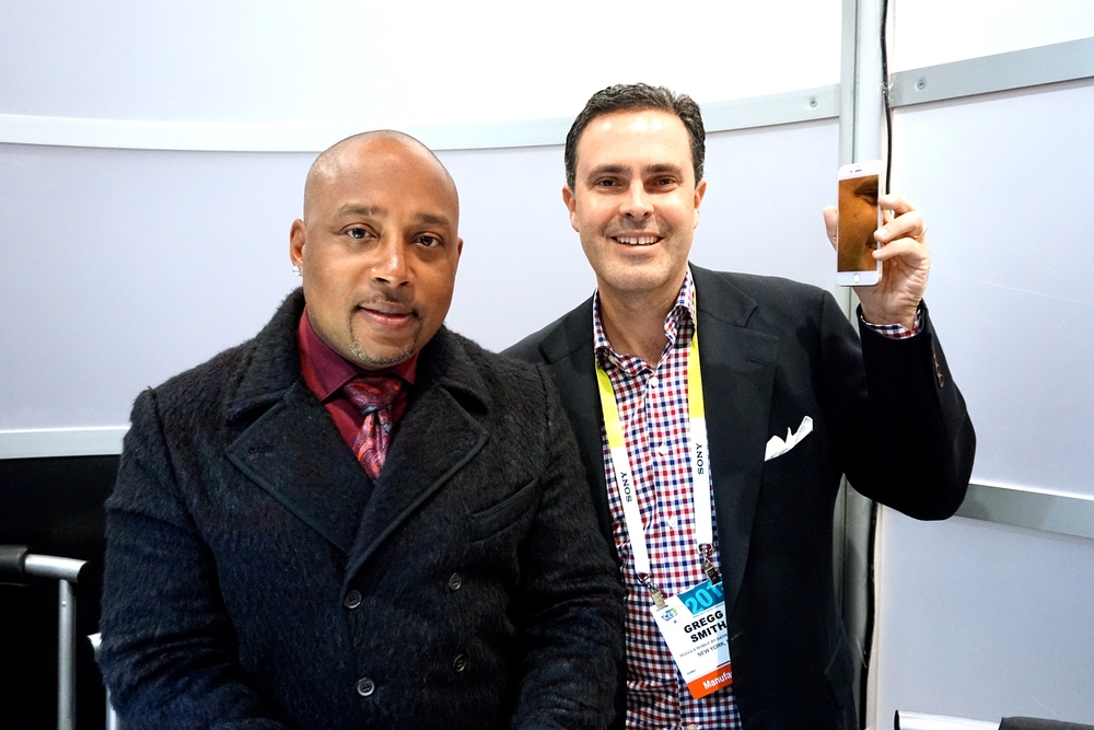 Daymond John  , and Gregg Smith, Co-Founder, Moguls Mobile by Daymond John  .