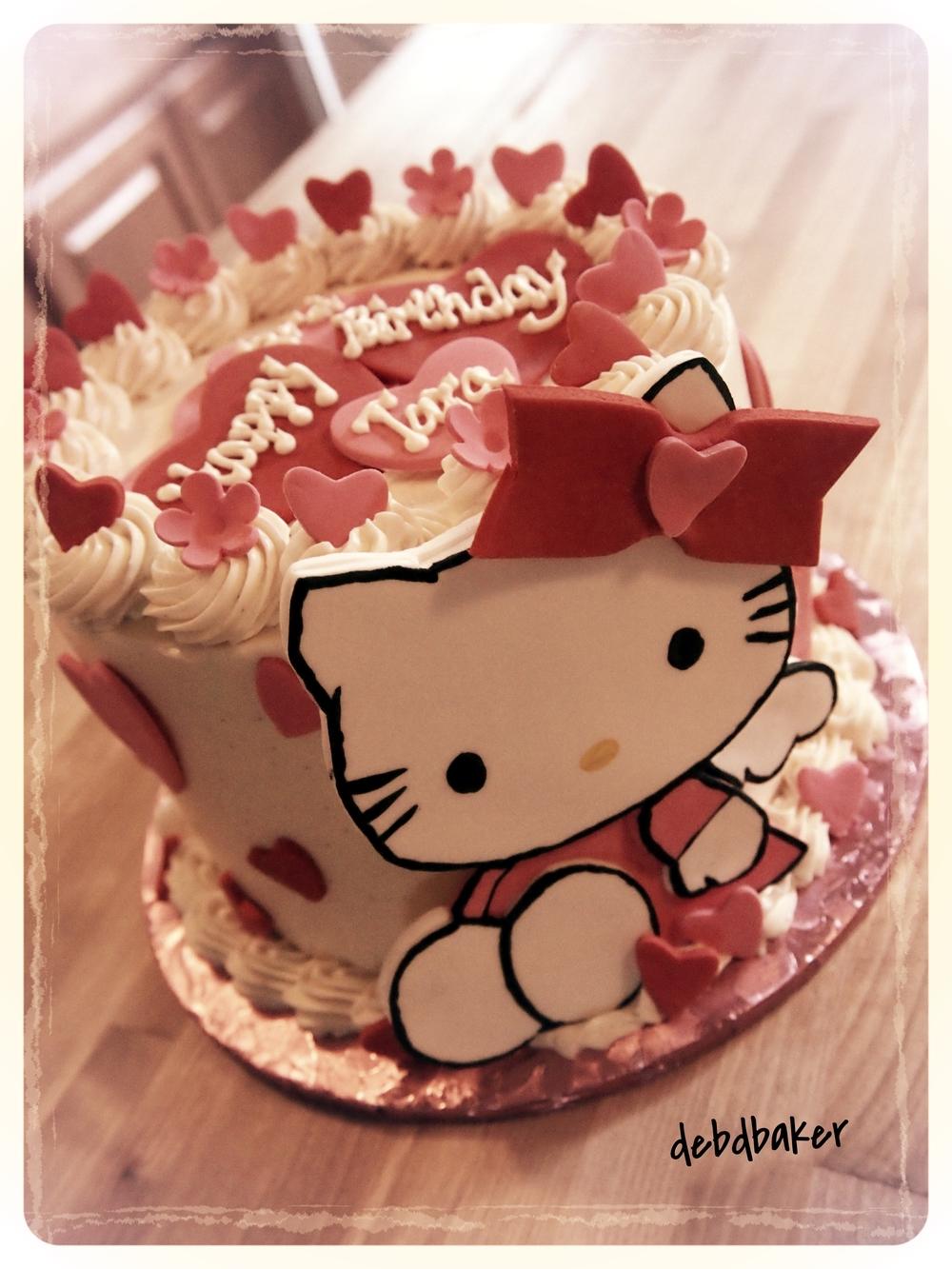 Tara's Hello Kitty Cake