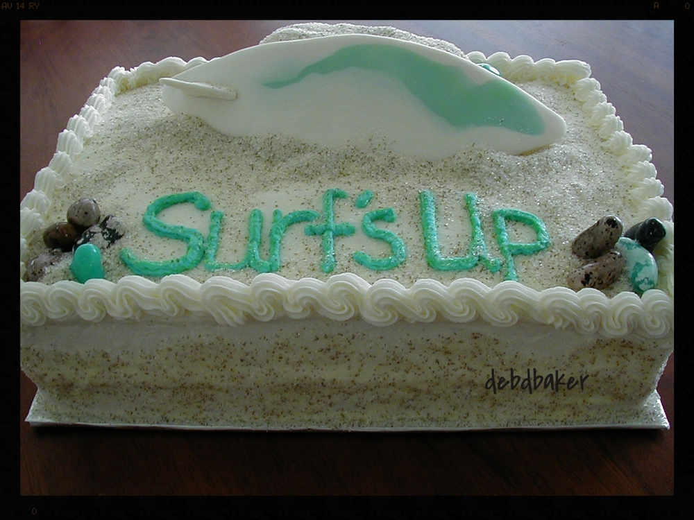 Retiring at the Beach Cake 2