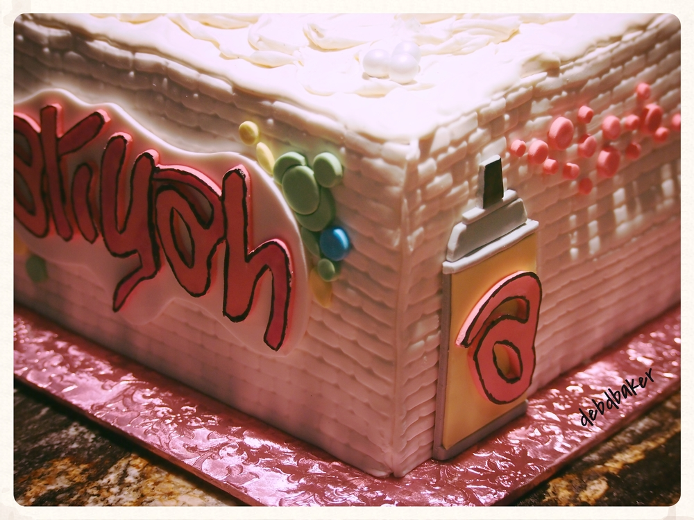 Aliyah's Hip-Hop Birthday Cake