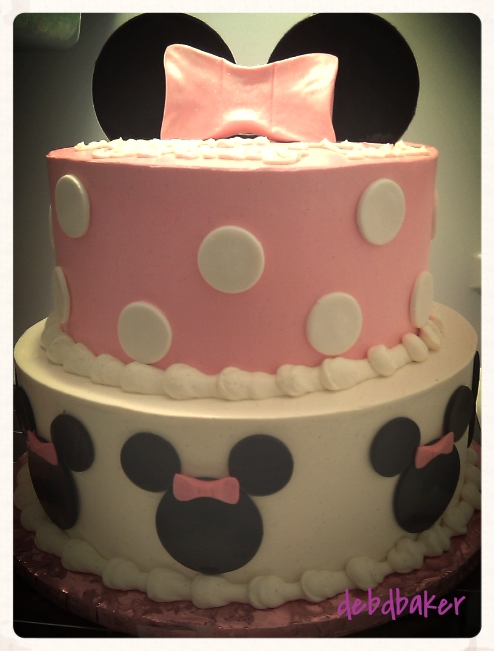 Minnie Mouse Cake for Tara