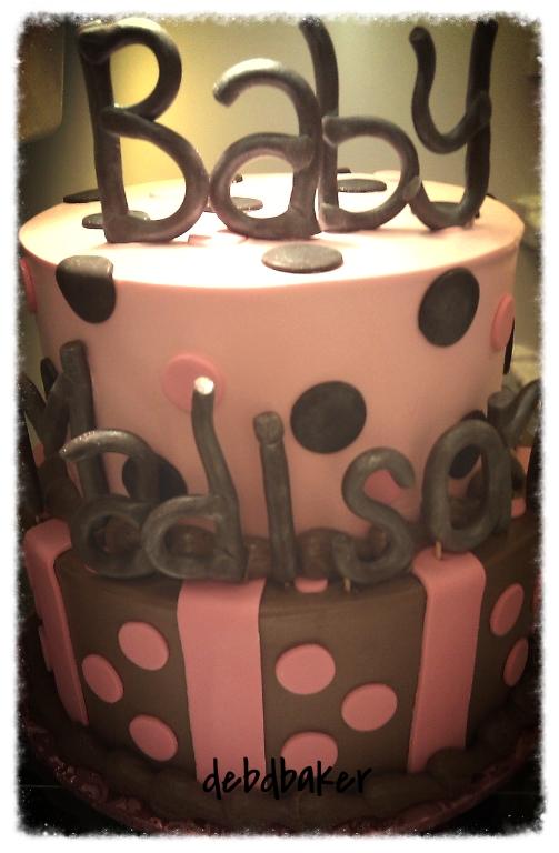 Baby Madison Shower Cake