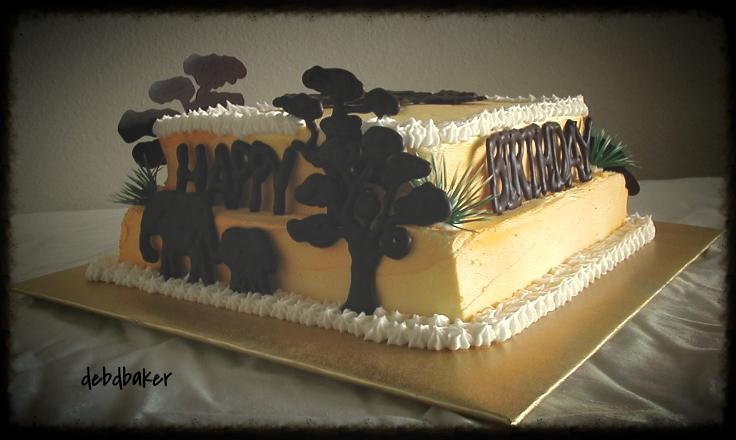 My Version of a Serengeti Cake
