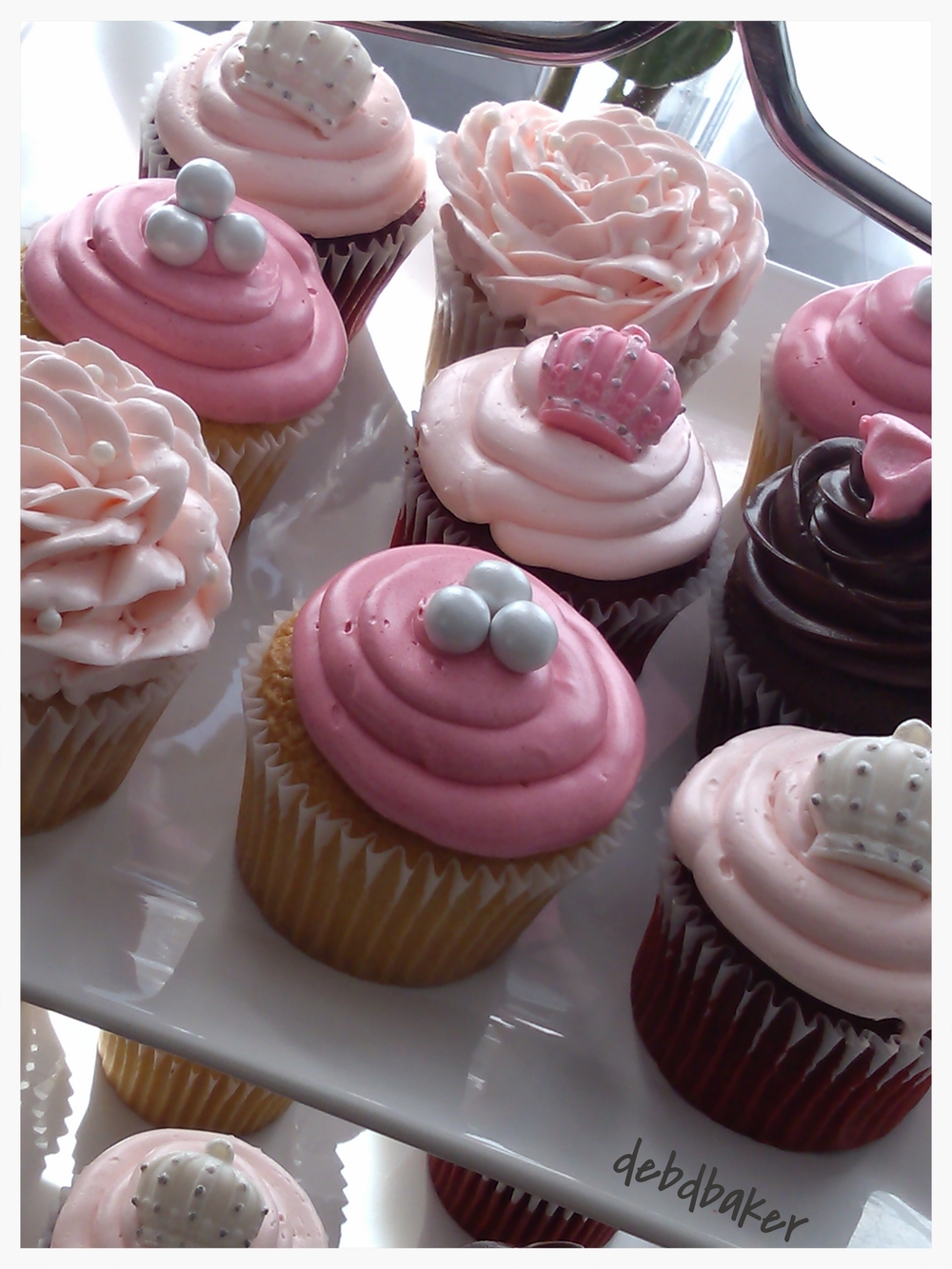 Princess Baby Shower Cupcake