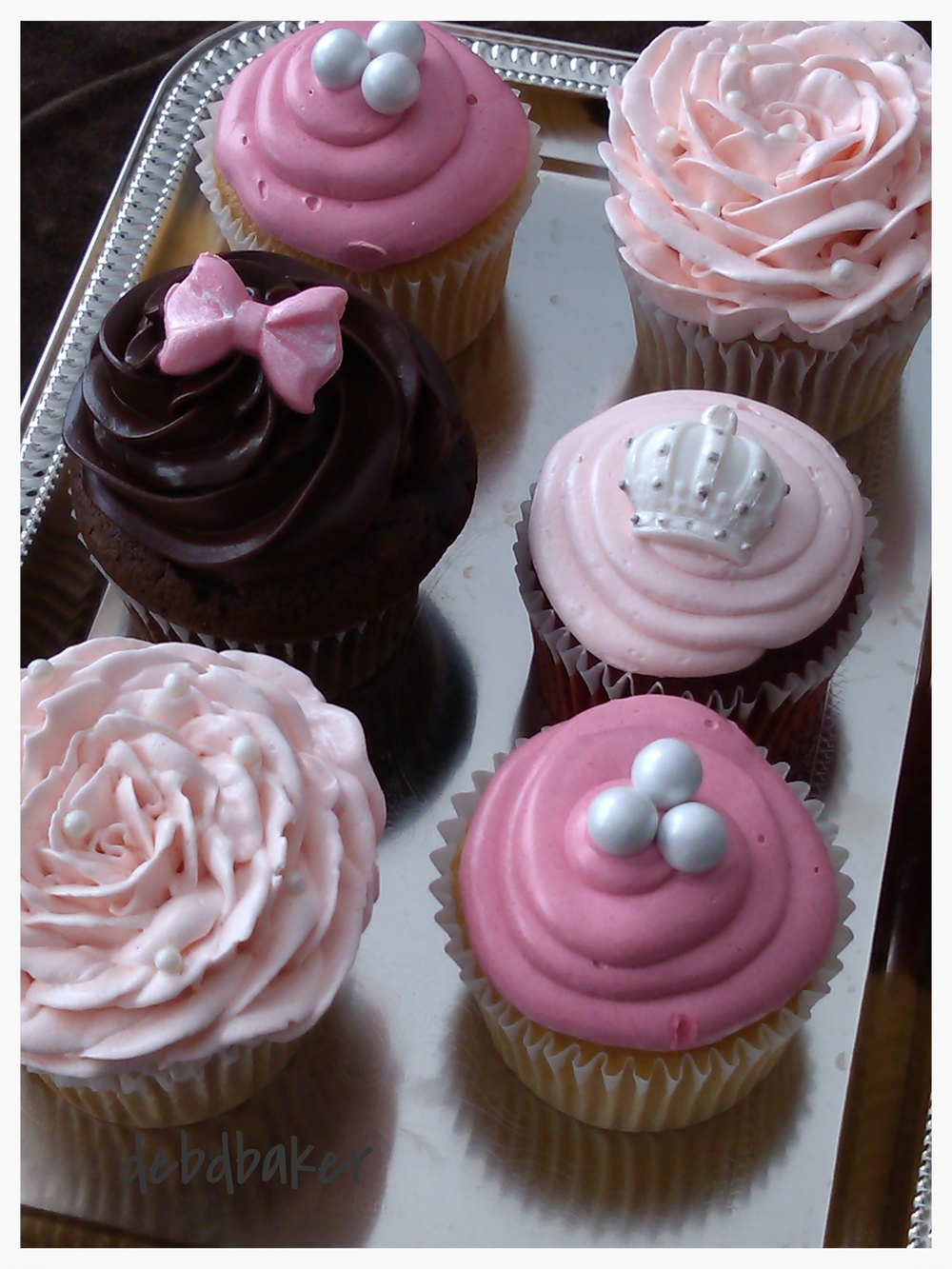 An Assortment of Cupcakes
