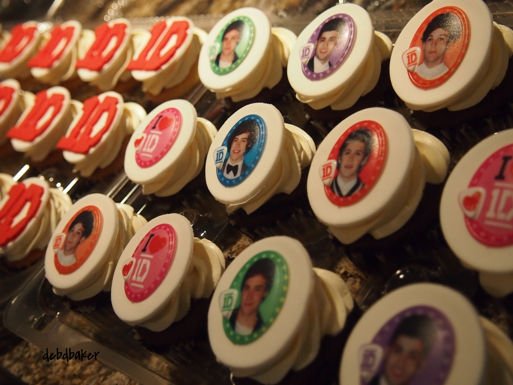One Direction #1 Fan Cupcakes