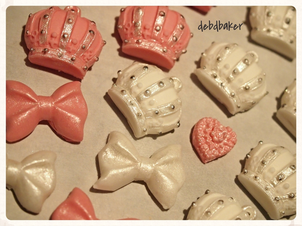 Use of candy molds