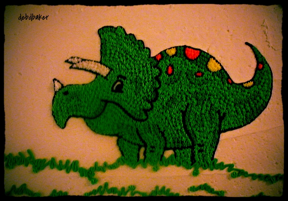 Buttercream Dinosaur