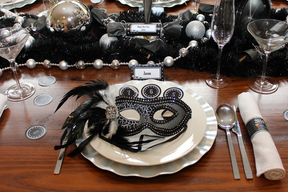 New Years Eve Masquerade Dinner Party Chic Ideas