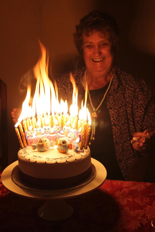 Owl Birthday Cake Chic Party Ideas