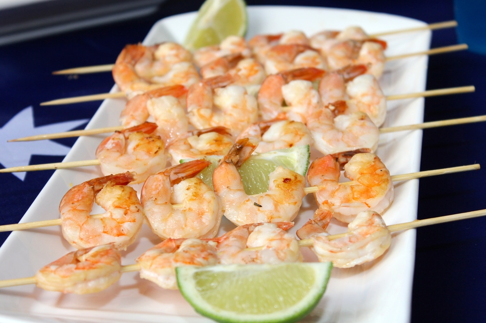 Prawn and Lime Skewers