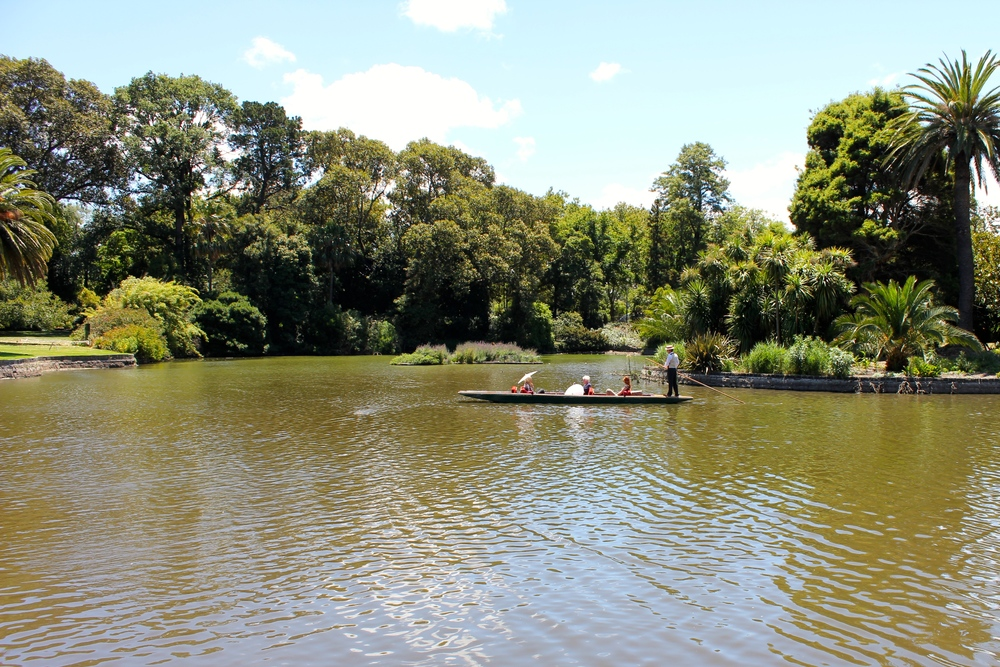 Gondolas at the Royal Botanical Gardens - Melbourne