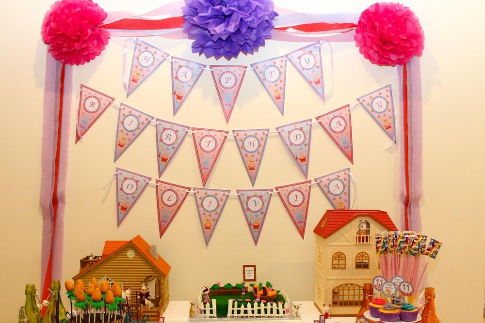 Happy Birthday - Customised Birthday Banner