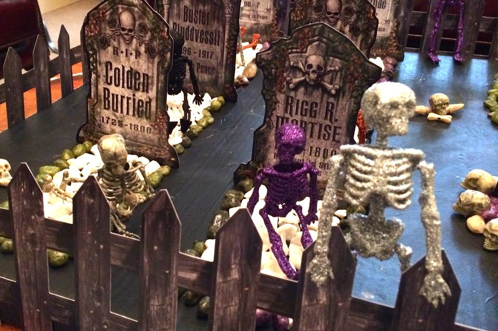 Step 7 - Halloween Graveyard Turotial