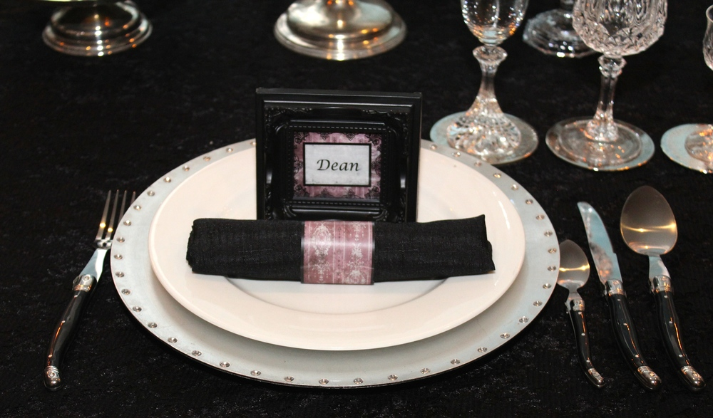 Gothic Party - Place Setting