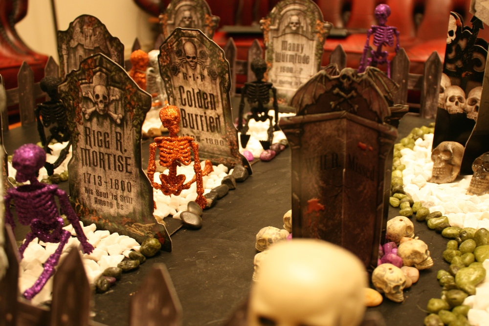 Step 6 - Halloween Graveyard Tutorial