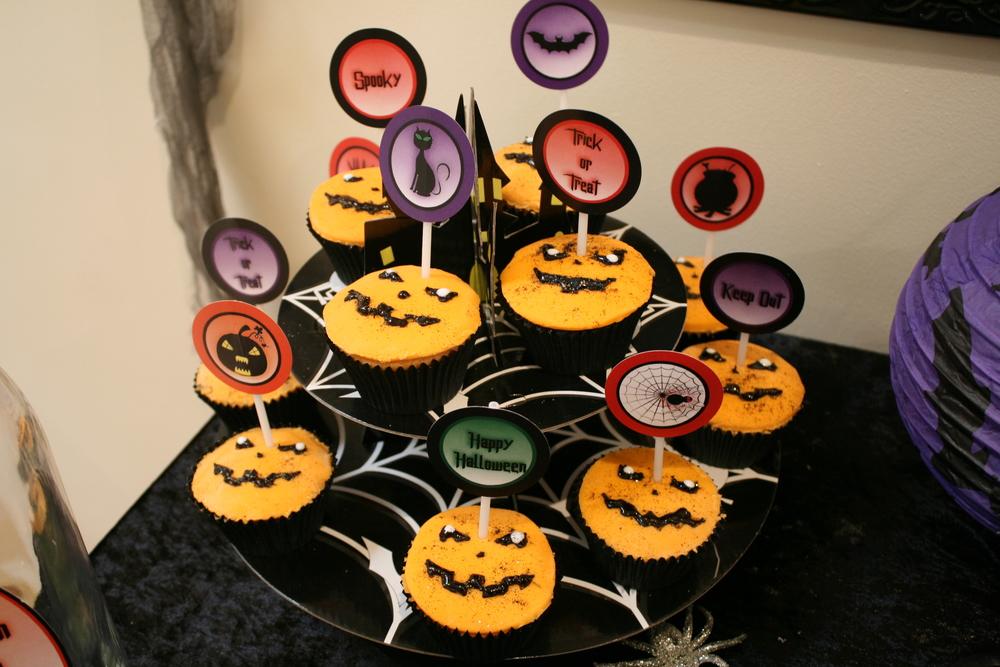 Halloween Pumpkin Cupcakes