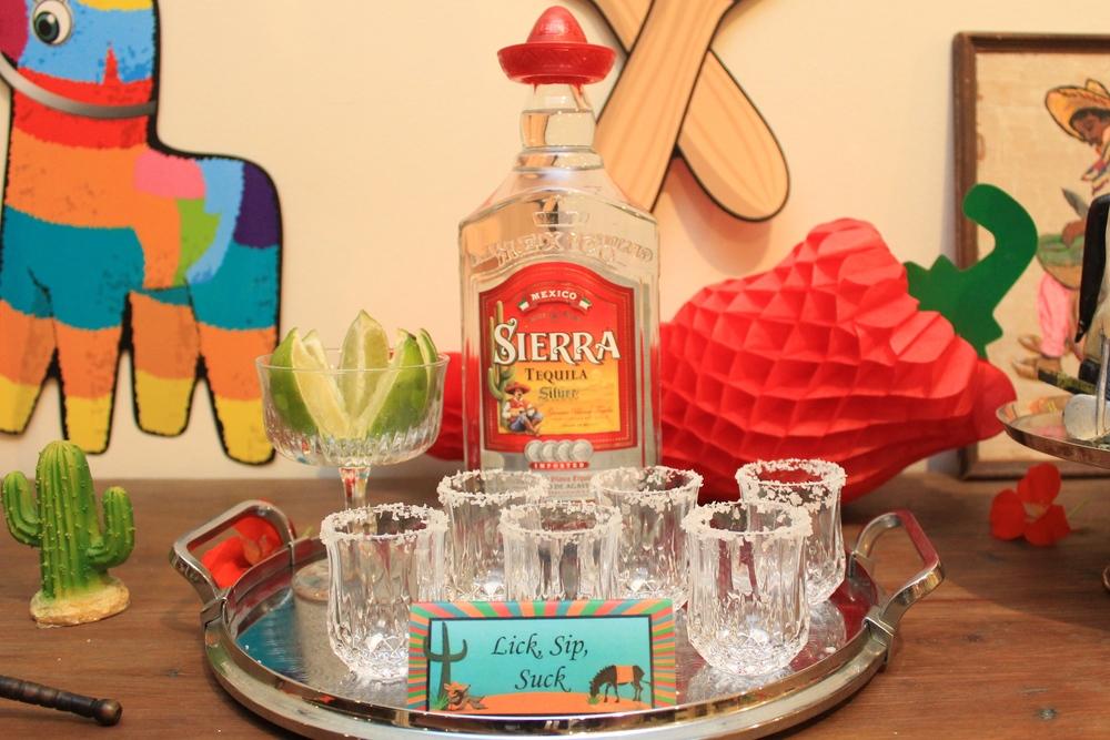 Tequila Lick, sip, suck