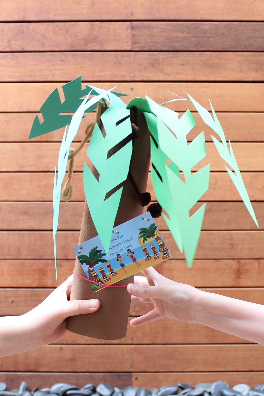 Hawaiian Luau Party Favour Bags